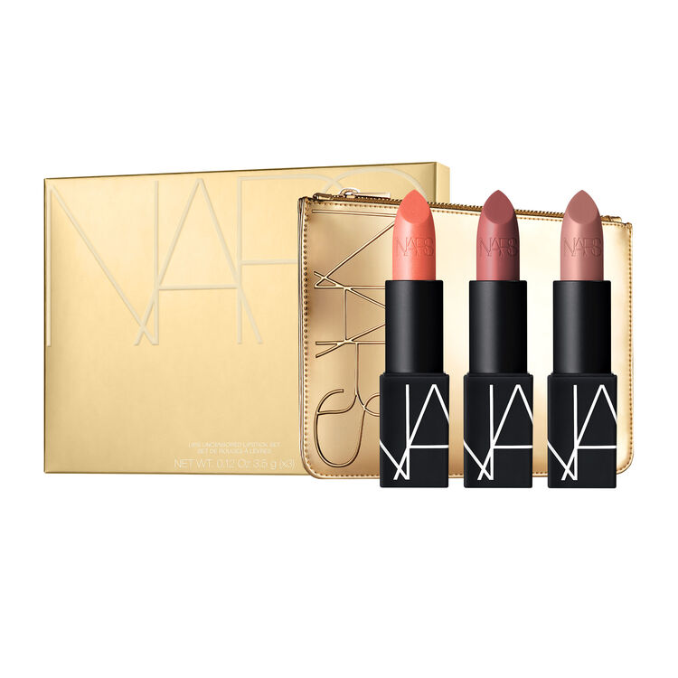 LIPS UNCENSORED LIPSTICK SET, NARS Holiday Collection